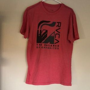 RVCA Red Large T-Shirt